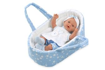 Ann Lauren Dolls 10.4 Inch Baby Doll in Carrier