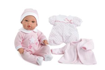 Ann Lauren Dolls 13 Inch Baby Girl with Layette