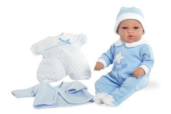 Ann Lauren Dolls 13 Inch Baby Boy with Layette