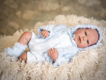 Ann Lauren Dolls 20  Inch Reborn Baby Boy Doll