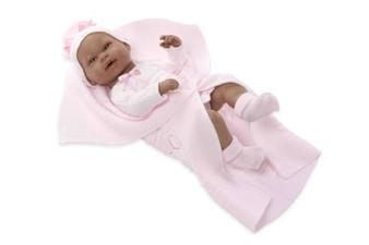 Ann Lauren Dolls Baby Girl Doll in Pink - 17 inches