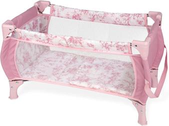 Ann Lauren Dolls by Arias Pink Paisley Playpen