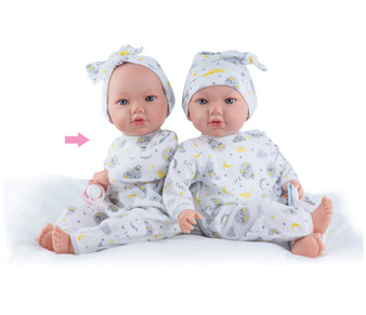 Alina Baby Doll in Moon Nightgown