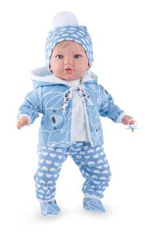 Little Jackson  Baby Boy Doll Dressed in Blue