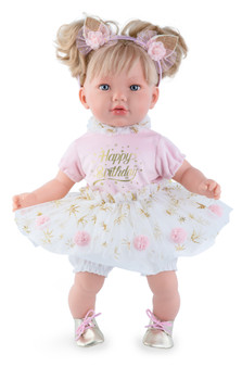 Alina Happy Birthday Toddler Baby Girl Dolls