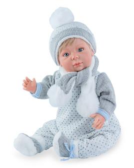 Nicholas  Ready for Winter- Baby Boy Doll