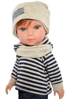 Red Hair Blue Eyes 14 Inch Boy- Axel™