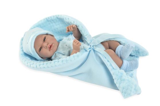 Ann Lauren Dolls 15 Inch Baby Boy Dolls with Pacifier