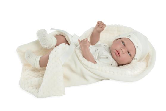 Ann Lauren Dolls 15 Inch Baby Doll with Pacifier