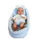 Ann Lauren Dolls- 13 Inch Baby Doll with Bassinet