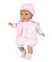 Ann Lauren Dolls 17 Inch Baby Doll with Pink  Dress-Blonde