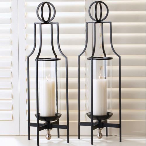 Classic Table Hurricane Candle Holder