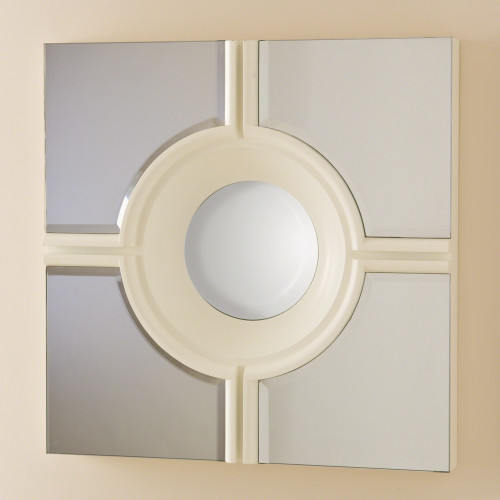Bulls Eye Cross Mirror