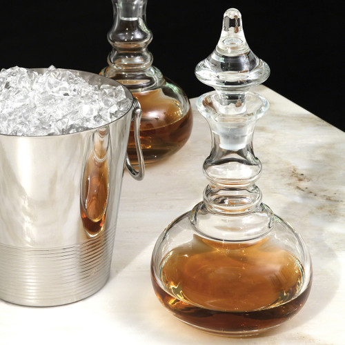 Turned Decanter