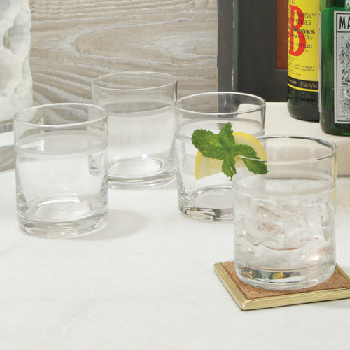 One Band Double Old Fashion Glasses