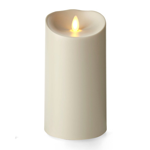 "Outdoor Pillar Ivory 3.75"" x 9"""