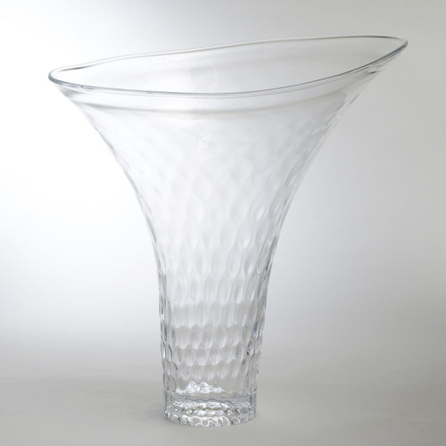 Grande Honeycomb Flair Vase
