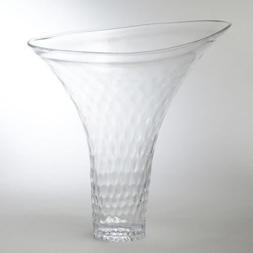Grande Honeycomb Flair Vase