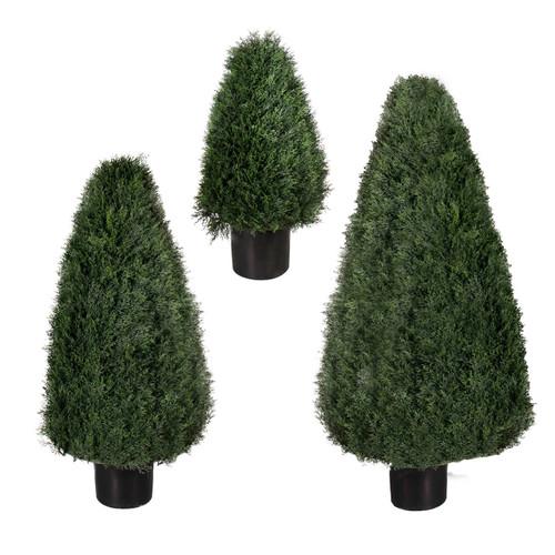 """Pond Cypress UV Tree 54"""" cone"""