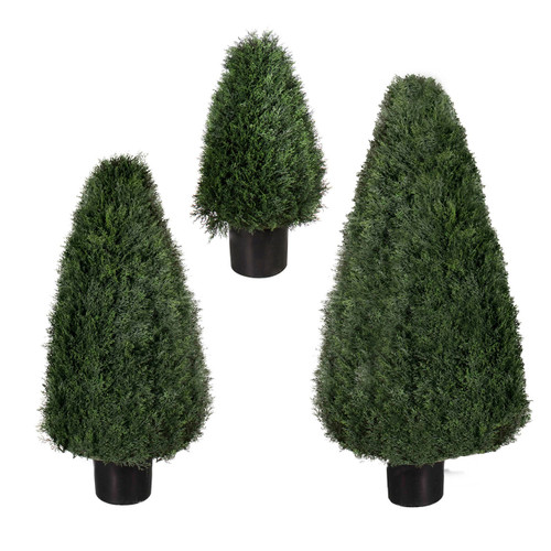 "Pond Cypress UV Tree 30"" cone"
