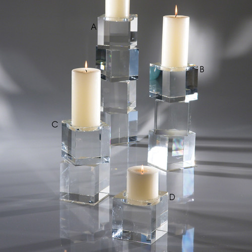 Escalier Crystal Candle Holder