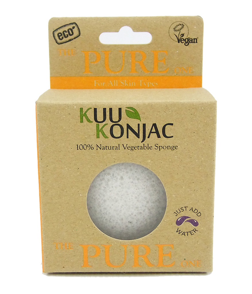 KUU Konjac Pure Sponge