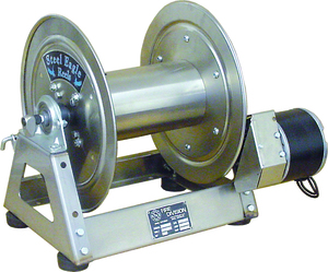 "12 VDC Electric Rewind | Stainless Steel | 1/2"" Plumbing"