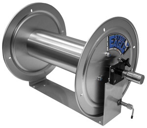 """12"""" Stainless Steel Soft Wash Hose Reel"""