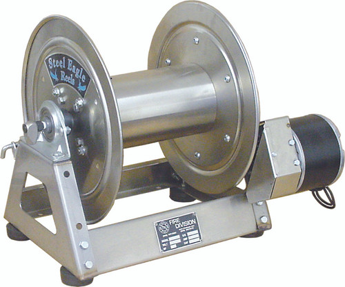 "12 VDC Electric Rewind | Stainless Steel | 1/2"" Plumbing"