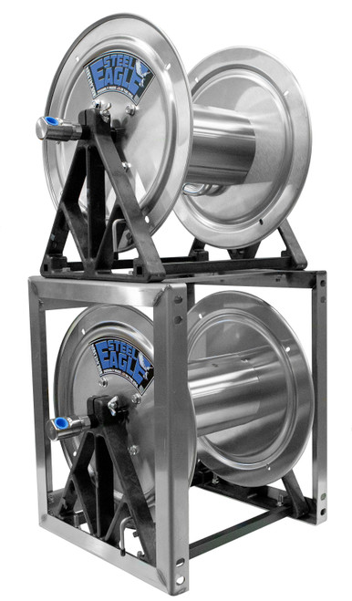 Hose Reel Stack Kit | Stainless Steel