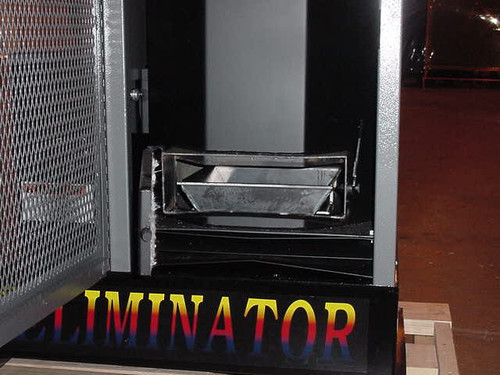 Vaporizing pan for Eliminator Waste Oil Heater