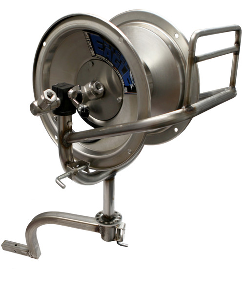 100' Stainless Steel Swivel Reel | Slide-In Arm