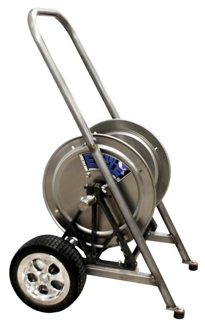 Stainless Steel Hose Reel Cart Kit | Flat Free Tires