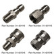 """1/4"""" Quick Couplers - Stainless Steel"""
