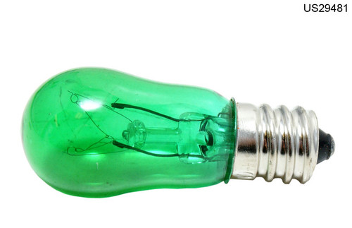 656/G LAMP 6W 130V CAND GREEN