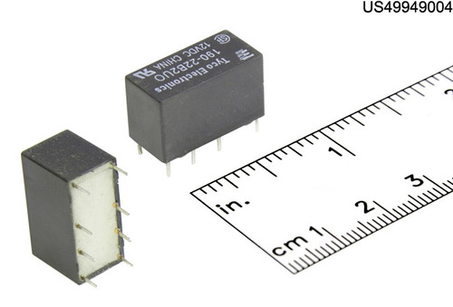 28F1725 RELAY PCB MNT DIP 2A 12VDC