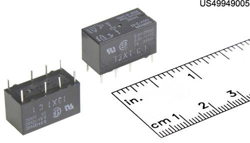 36K1943 RELAY PCB MNT DIP 2A 24VDC