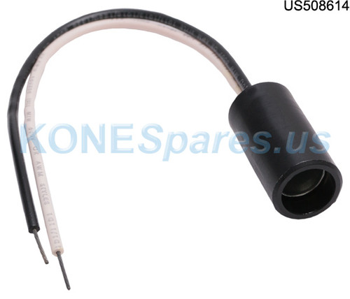 """940-31001-000 SOCKET LAMP MINI BAYONET .575""""OD"""