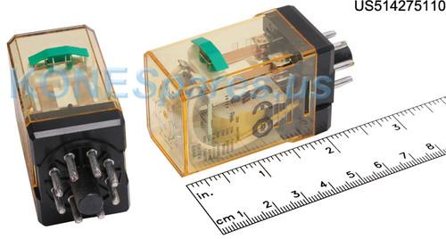 RR2PULCDC110V IDEC RELAY PLUG IN 110VDC DPDT 10A