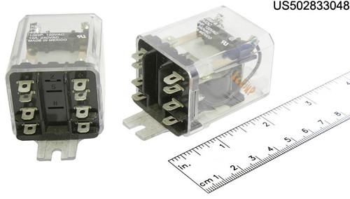KUP-11D55-48 RELAY PLUG IN 48VDC DPDT 10A
