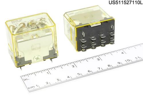 RH4B-ULDC110V RELAY PLUG IN 110VDC 4PDT 10A W/LITE