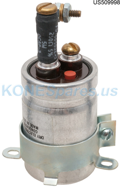 226H3 CAPACITOR 125MFD 150VDC W/RES