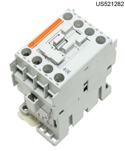 CS7-40E-120 RELAY CONTROL 120VAC COIL 4NO@10A