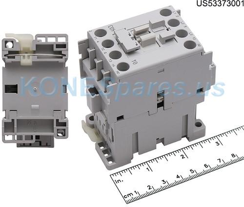 100-C09-D10 CONTACTOR 4P NO 600VAC 9A