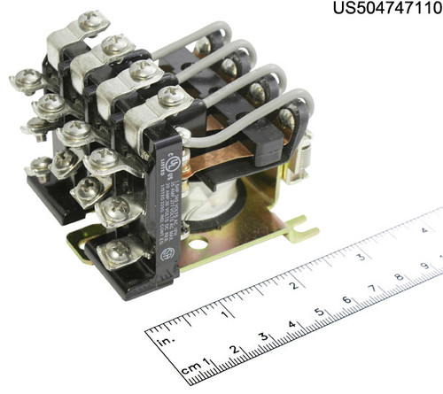 PM-17DY-110 RELAY POWER 110VDC COIL 4PDT 25A