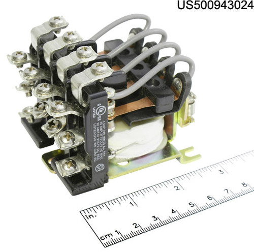 24F1432 RELAY POWER 24VAC COIL 4PDT 25A