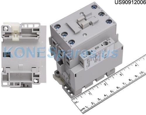 100-C37D10 CONTACTOR 3P 120VAC 38 AMP