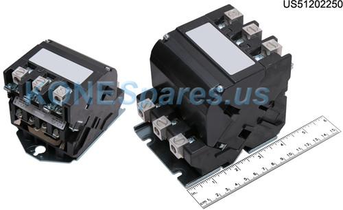 40GP107452U CONTACTOR 3P SZ2.5 INV 60A
