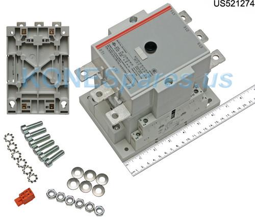 CA6-140-EI-11-120B S&S CONTACTOR 120V 140 AMP 1NO/1NC AUX