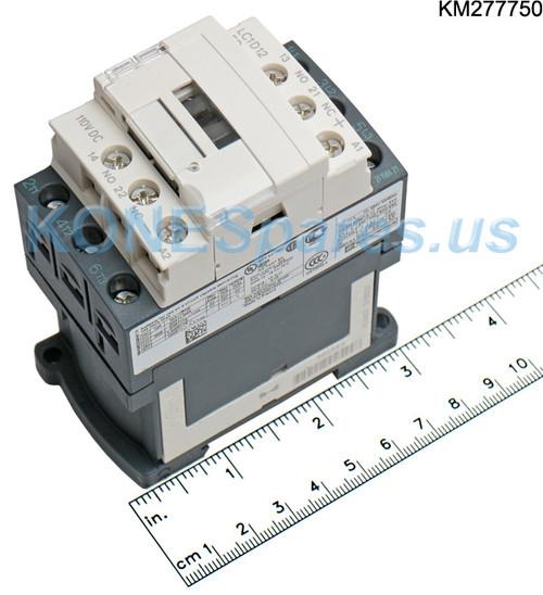 SCHNEIDER LC1D12FD 110VDC COIL 12A 3-POLE